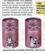 """2. Kollektion: """"Dasuno für airmici"""""""