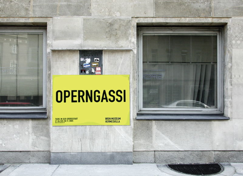 DASUNO - Nora Sri Jascha // Client: Wien Museum // 2005